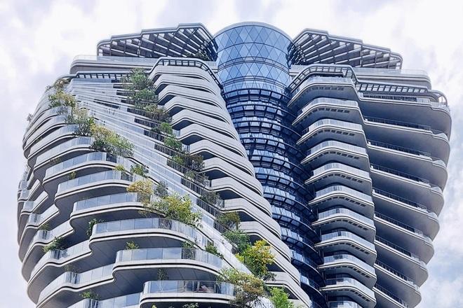 Độc đáo tòa nhà 21 tầng xoắn vặn như chuỗi DNA - 5