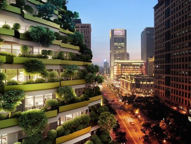 Độc đáo tòa nhà 21 tầng xoắn vặn như chuỗi DNA - 6