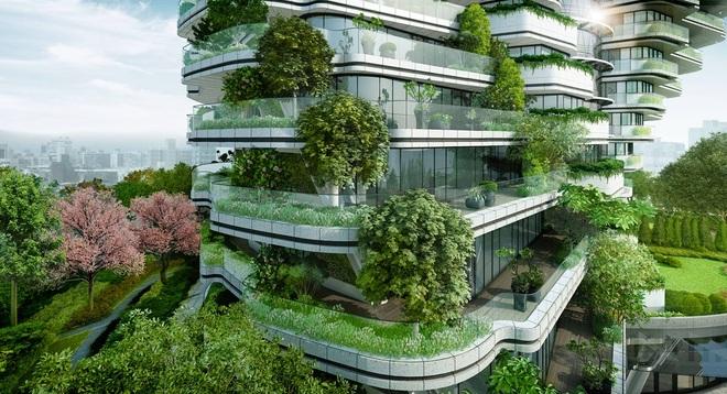 Độc đáo tòa nhà 21 tầng xoắn vặn như chuỗi DNA - 3