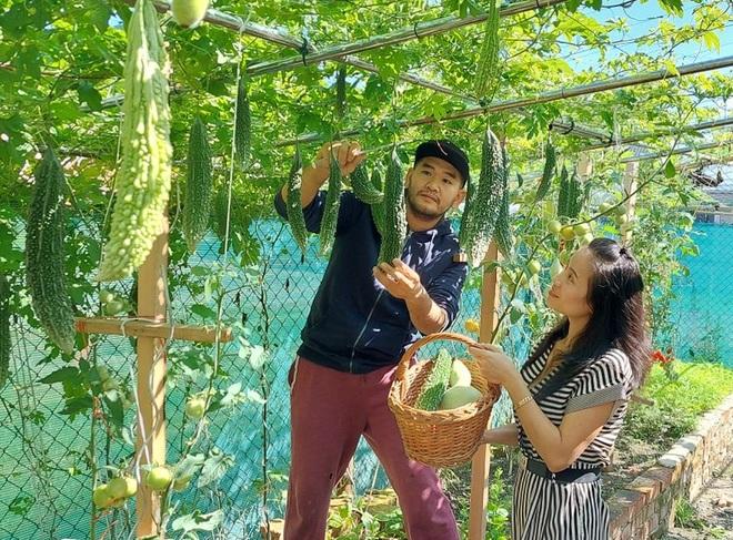Cải tạo đất toàn sỏi đá, ông bố gốc Việt có vườn toàn trái khủng ở Séc - 8