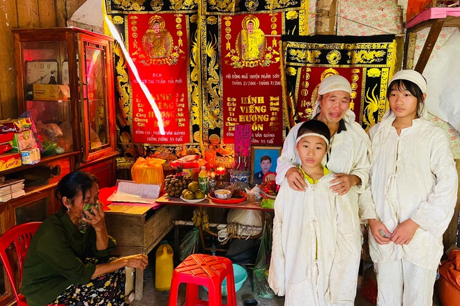 Cha đột tử ở Đài Loan, thương 2 đứa trẻ mồ côi cùng mẹ gánh nợ trên vai - 2