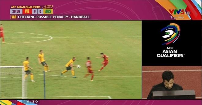 Lời bào chữa bất ngờ của cầu thủ Australia chạm tay trong vòng cấm - 1