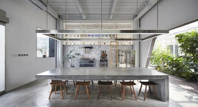 Thiết kế độc lạ trong quán cà phê xuyên thấu không vách ngăn - 10