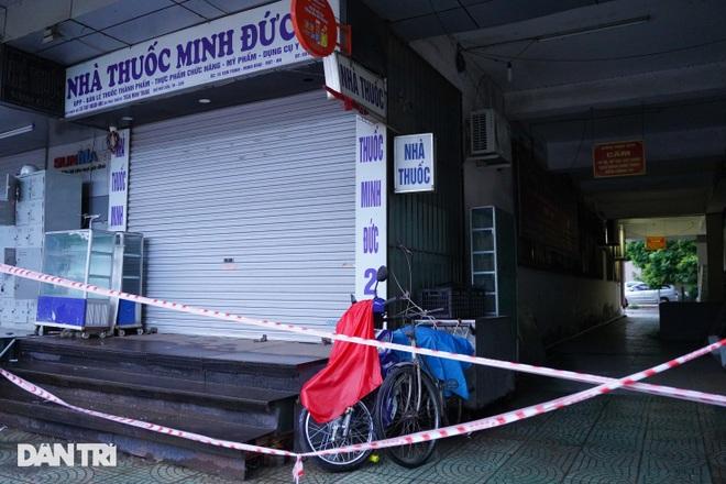 Phong tỏa chung cư ở Hà Nội có 7 F0, một hiệu thuốc liên quan phải đóng cửa - 6