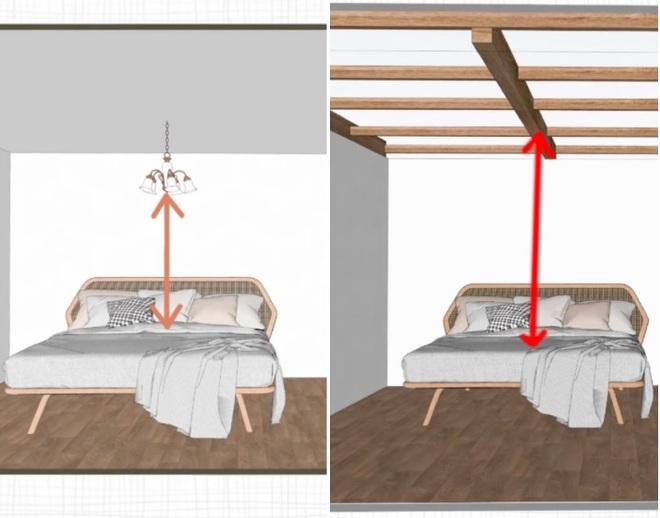 Kiến trúc sư chỉ rõ 5 lỗi cần lưu ý khi kê giường ngủ - 4