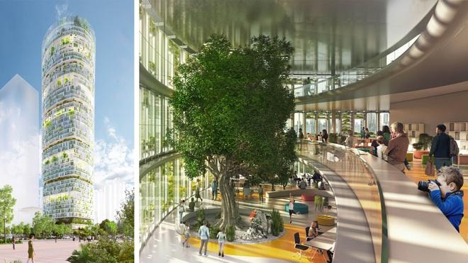Kế hoạch khủng về trang trại trồng rau ở tòa tháp, đủ nuôi 40.000 người - 1