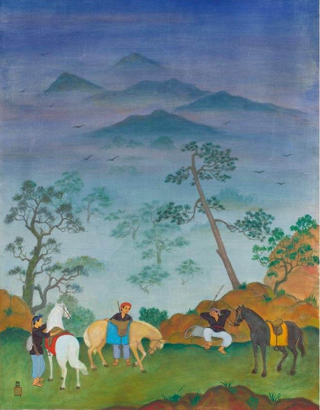 Xem tranh của danh họa Việt có tác phẩm đắt nhất trên thị trường đấu giá - 13