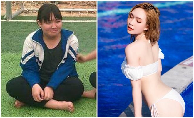 Giảm 23kg trong 3 tháng, cô gái Hải Dương lột xác xinh như hot girl - 1