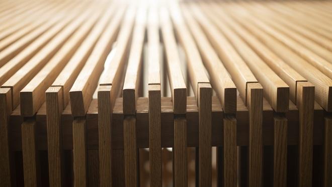 Mùa dịch không ra đường, bố mẹ làm không gian ghép gỗ cho con chơi tại nhà - 5