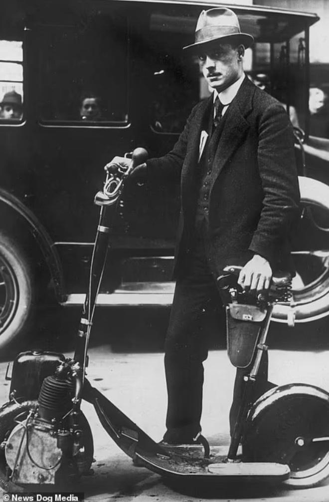 Bất ngờ với hình ảnh scooter chạy trên đường phố từ cách đây hơn một thế kỷ - 10