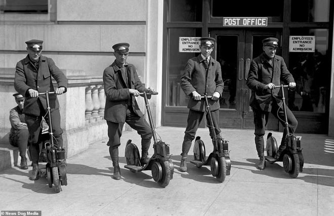 Bất ngờ với hình ảnh scooter chạy trên đường phố từ cách đây hơn một thế kỷ - 2