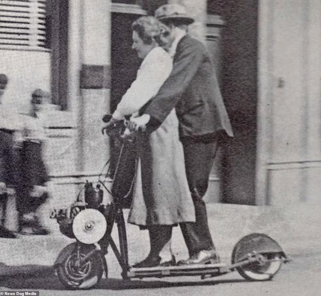 Bất ngờ với hình ảnh scooter chạy trên đường phố từ cách đây hơn một thế kỷ - 3