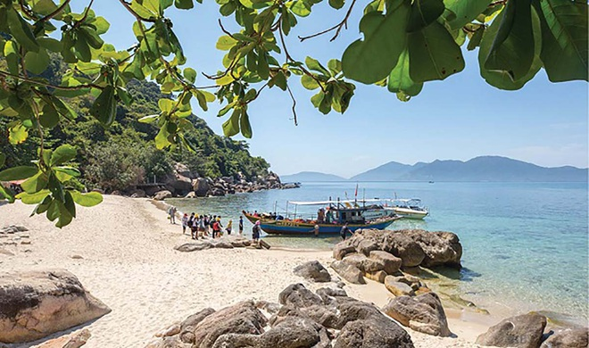 Da Nang: Discover a new tourist destination, Hon Chao island in the middle of the sea - 5