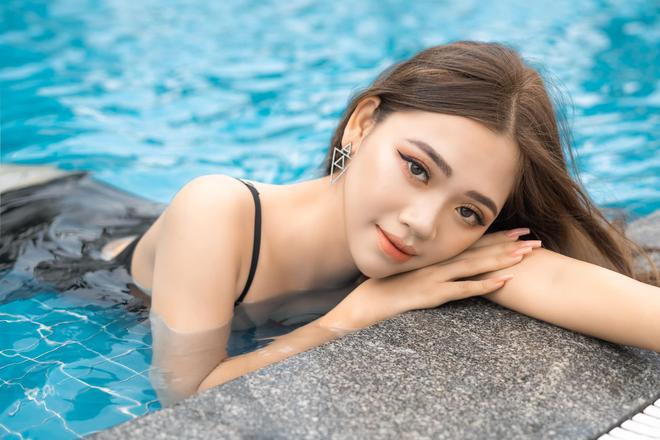 Nữ sinh Nam Định dẫn đầu bảng bình chọn Hoa hậu Hoàn vũ Việt Nam 2021 - 3