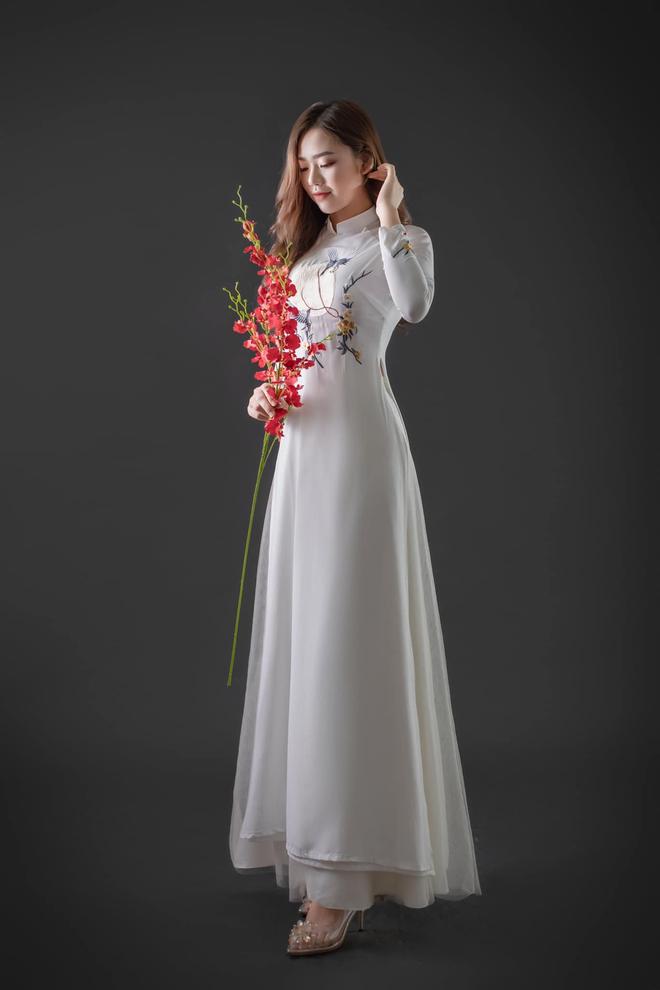 Nữ sinh Nam Định dẫn đầu bảng bình chọn Hoa hậu Hoàn vũ Việt Nam 2021 - 4