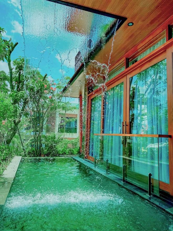 Ốc đảo xanh mướt rộng 250 m2 ở Vĩnh Phúc của bà mẹ 2 con - 2
