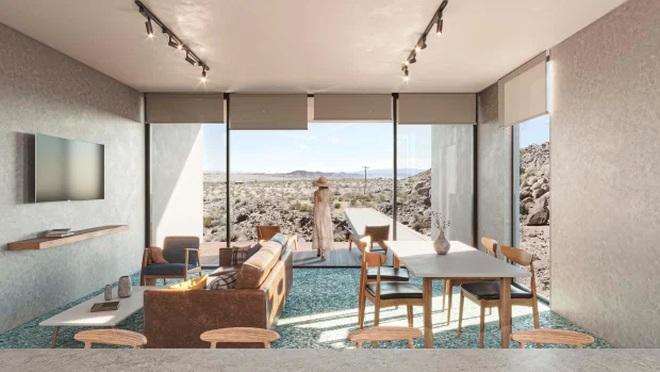 Ngôi nhà nằm cô quạnh giữa hoang mạc bán giá gần 2,5 triệu USD - 2