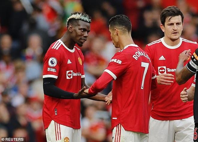 Pogba bất ngờ quay ngoắt thái độ với Man Utd vì C.Ronaldo - 1