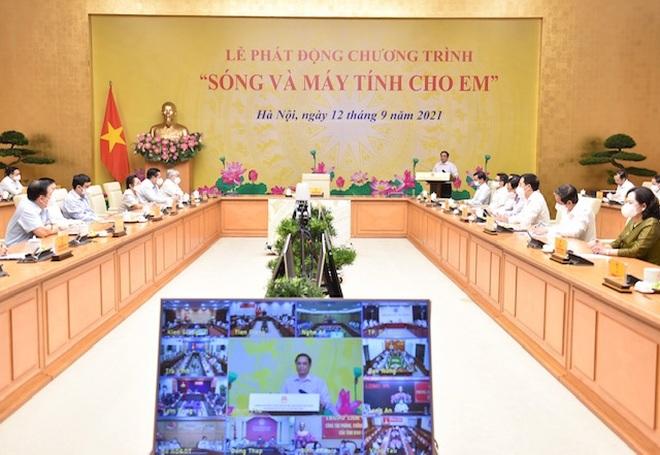 Toàn văn phát biểu của Thủ tướng tại Chương trình Sóng và máy tính cho em - 2