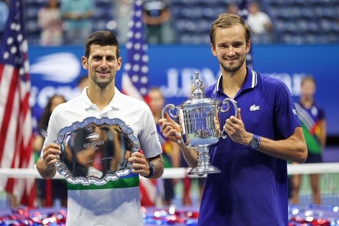 Đánh bại Djokovic, Medvedev lần đầu vô địch US Open - 1