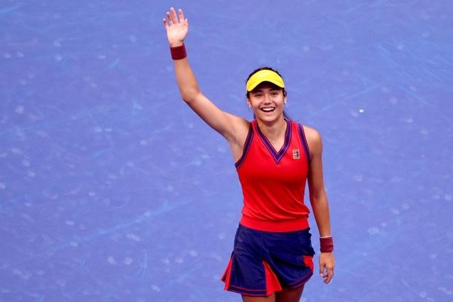 Ngôi sao trẻ Raducanu trở thành triệu phú nhờ vô địch US Open - 2