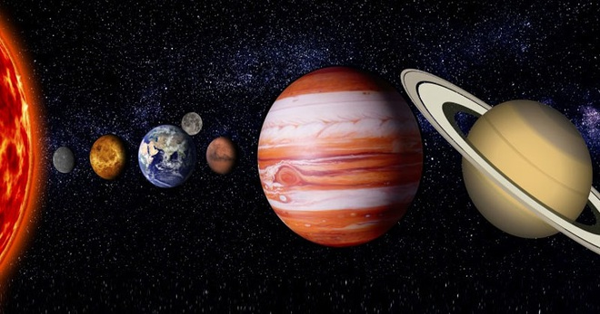 Tại sao các hành tinh lại có hình tròn? - 1