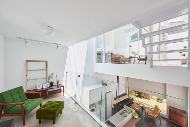 Nội thất đẹp của căn nhà 36 m2 bên ngoài hoài cổ, bên trong hiện đại - 4
