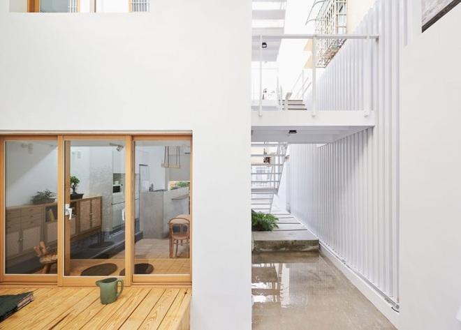 Nội thất đẹp của căn nhà 36 m2 bên ngoài hoài cổ, bên trong hiện đại - 5
