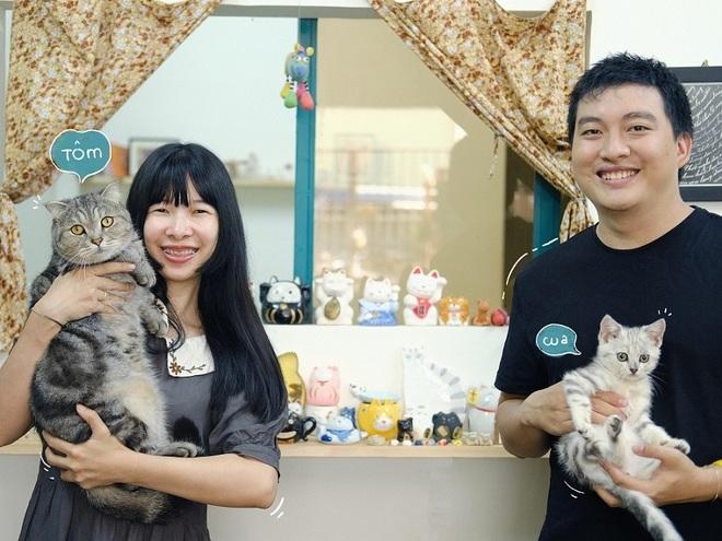 Vợ chồng trẻ đam mê sáng tạo sản phẩm gốm lấy cảm hứng từ những chú mèo - 2