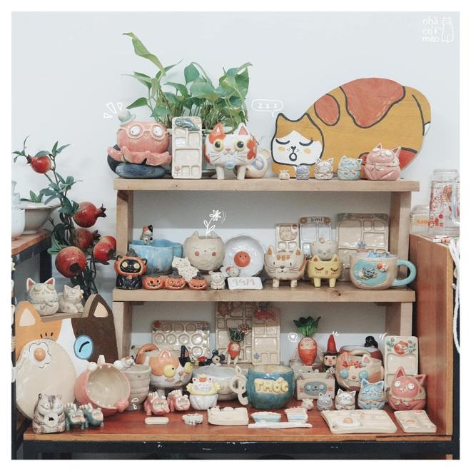 Vợ chồng trẻ đam mê sáng tạo sản phẩm gốm lấy cảm hứng từ những chú mèo - 3