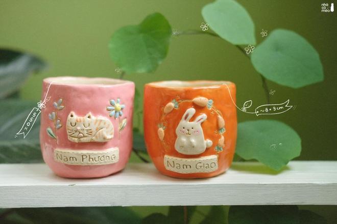 Vợ chồng trẻ đam mê sáng tạo sản phẩm gốm lấy cảm hứng từ những chú mèo - 5