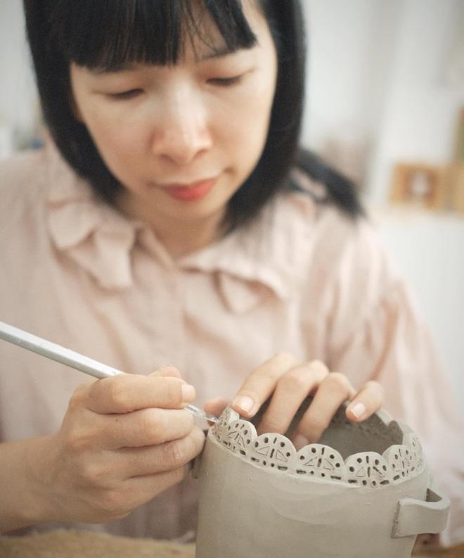 Vợ chồng trẻ đam mê sáng tạo sản phẩm gốm lấy cảm hứng từ những chú mèo - 7