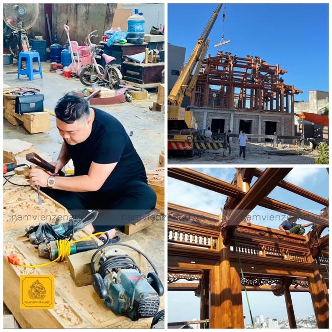 Phục dựng kiến trúc nhà gỗ cổ và vực dậy làng nghề truyền thống - 3