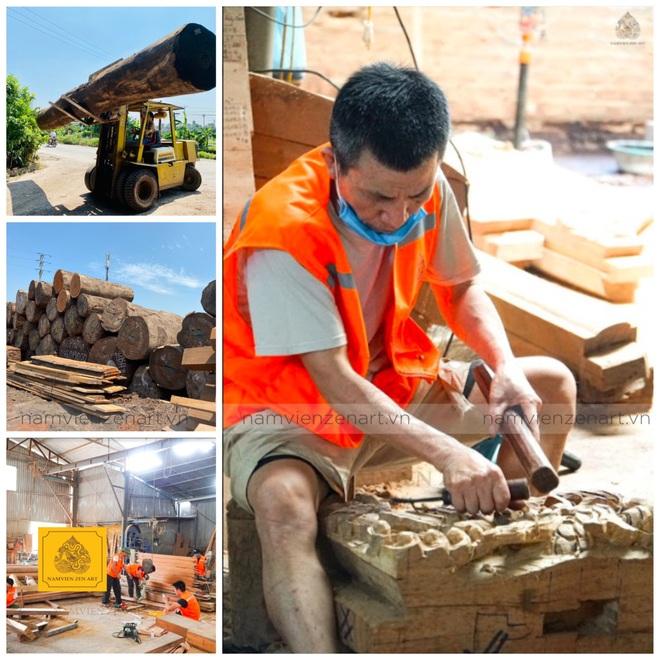 Phục dựng kiến trúc nhà gỗ cổ và vực dậy làng nghề truyền thống - 4