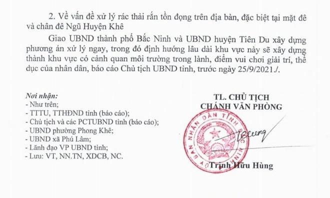 Chủ tịch tỉnh Bắc Ninh ra tối hậu thư dẹp sạch sai phạm, cứu sông Cầu - 2