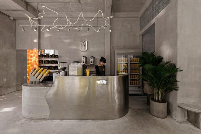 Quán cà phê bê tông phối màu đẹp lạ ở Tây Ninh lên báo nước ngoài - 7