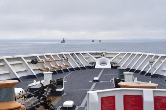 Bốn chiến hạm Trung Quốc vào vùng đặc quyền kinh tế Mỹ gần Alaska - 1