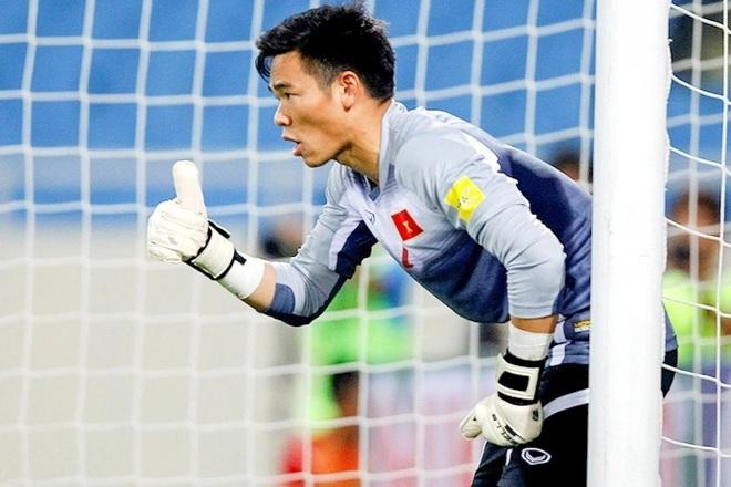 Thủ môn Nguyên Mạnh được HLV Park triệu tập lên đội tuyển Việt Nam - 1
