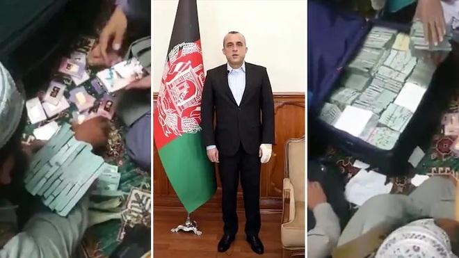Kho tiền 6 triệu USD và 18 thỏi vàng ở nhà cựu phó tổng thống Afghanistan - 1