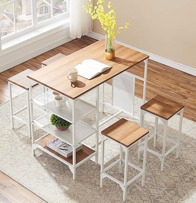 Những thiết kế bàn ăn hoàn hảo cho không gian nhỏ - 3