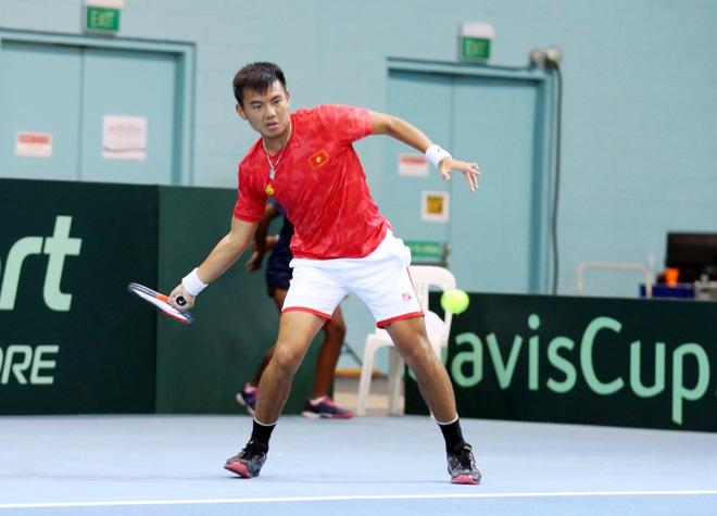 Đội tuyển quần vợt Việt Nam thắng trận thứ hai tại Davis Cup - 1
