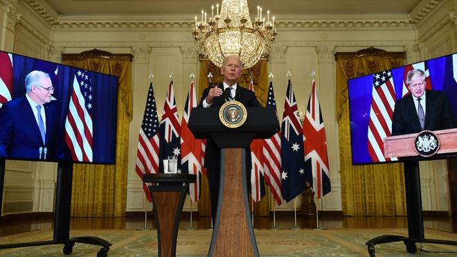 Trung Quốc nóng mặt vì liên minh an ninh mới của Mỹ-Anh-Australia - 1