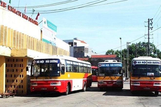 Hải Dương cho phép taxi, xe buýt hoạt động trở lại - 1