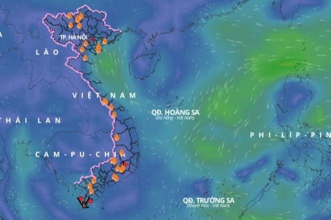 Biển Đông lại sắp hứng áp thấp nhiệt đới - 1