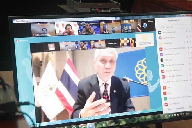 Liên đoàn thể thao Đông Nam Á tính phương án cho SEA Games 31 - 1