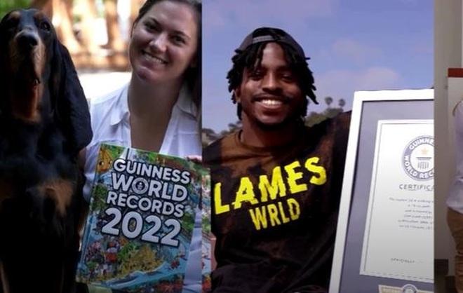 Hàng loạt thành tích kỳ lạ vào danh sách Kỷ lục Guinness thế giới - 1