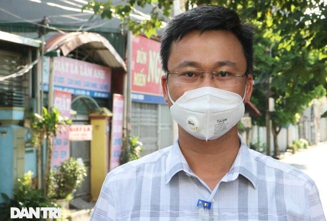 Cận cảnh khu vực phong tỏa ổ dịch có 6 ca F0 trong một gia đình ở Hà Nội - 3