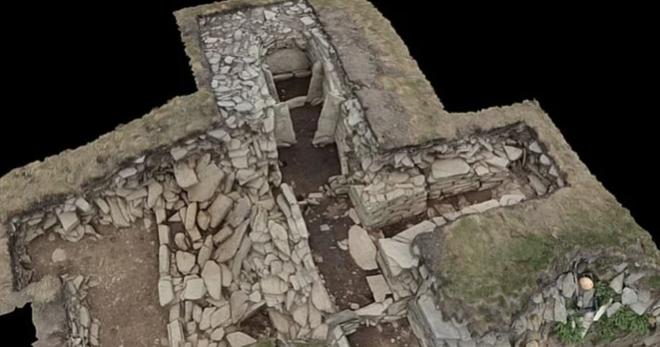 Những quả cầu bí ẩn trong lăng mộ thời kỳ đồ đá mới ở Scotland - 2
