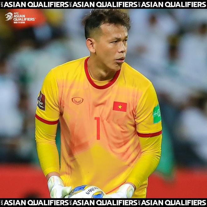 Tấn Trường lọt top 4 thủ môn hay nhất vòng loại World Cup - 1