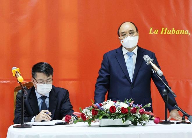 Lãnh đạo Việt Nam-Cuba bàn việc cung cấp, chuyển giao công nghệ vắc xin - 1